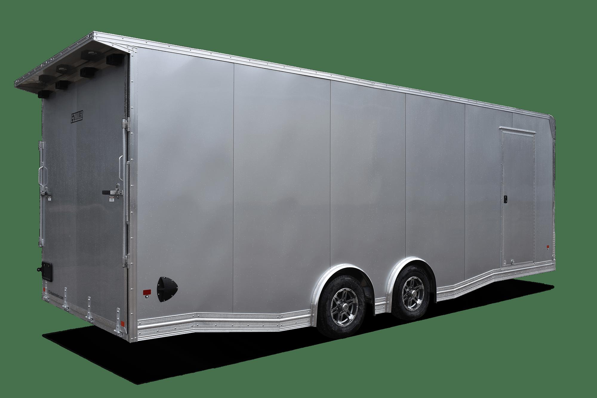 Enclosed Car Haulers